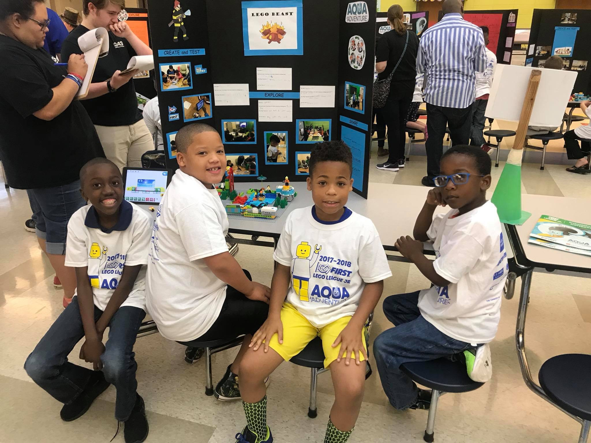 YouthLink | FIRST LEGO League Jr  Expo
